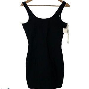 Have Millennium Black Stretchy Tank Dress Sz L